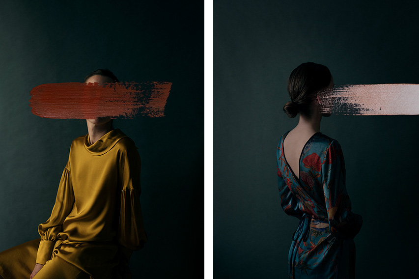 Andrea Torres Balaguer - Golden Brush (Left) Kimono Brush (Right), minus37