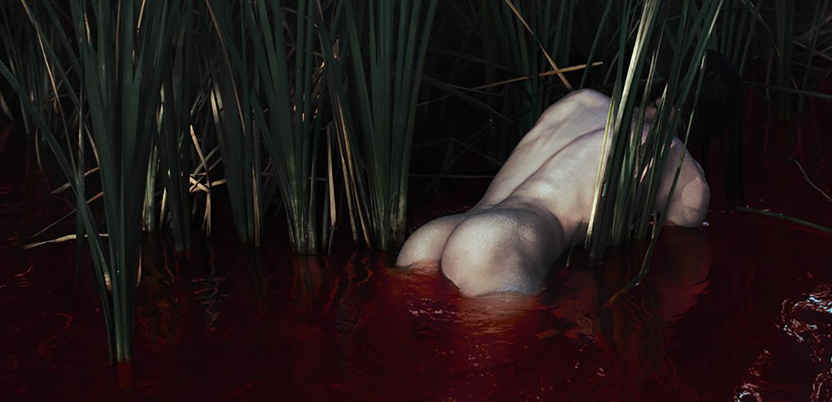 Brian Oldham - Red Sea (detail)