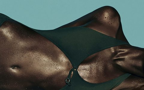 Julia Noni - Swimwear fashion shoot(detail), minus37