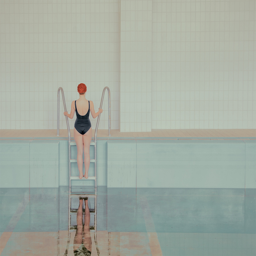 Maria Svarbova - In the Swimming Pool series, minus37 (1)