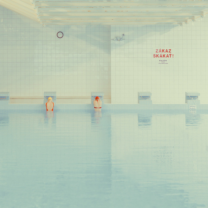 Maria Svarbova - In the Swimming Pool series, minus37