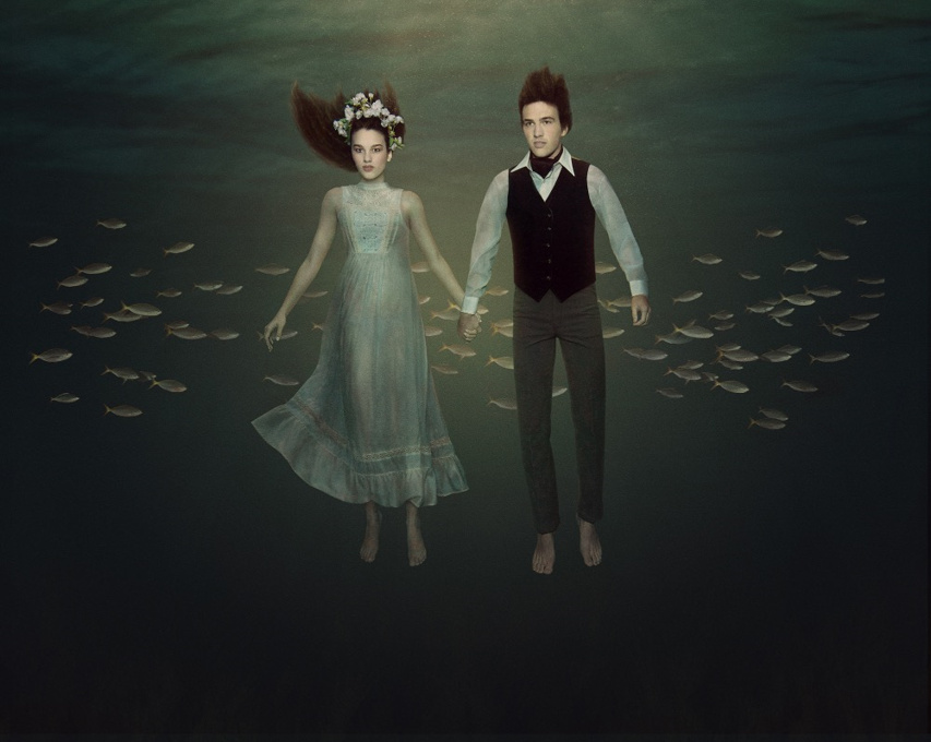 Rebecca Handler - Couple, Underwater Series, Minus37