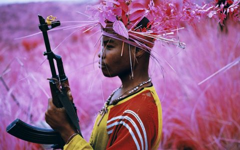 Richard Mosse - Safe from harm (detail), minus37