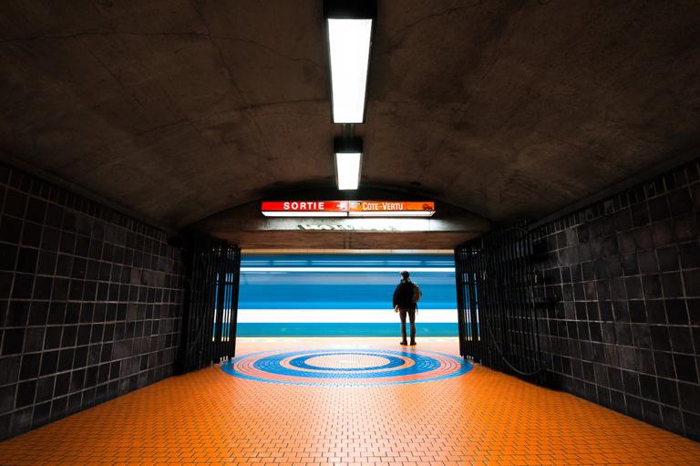 Chris M. Forsyth - Jean-Talon, Montreal, The Metro Project, minus37