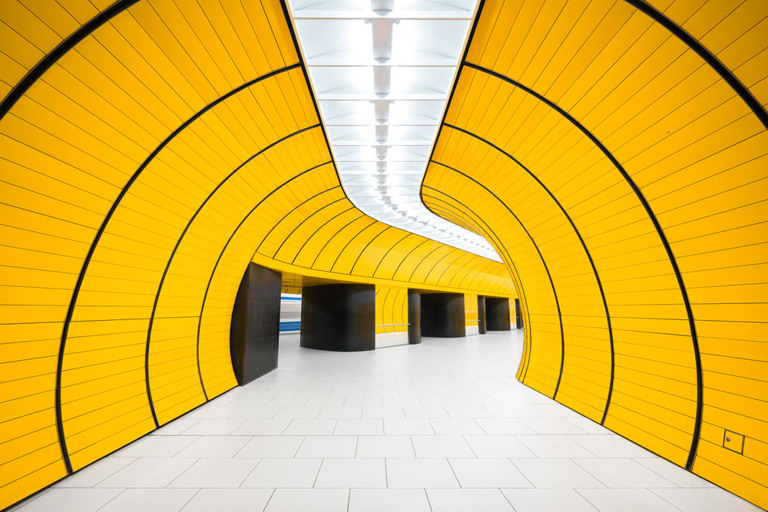Chris M. Forsyth - Marienplatz, Munich, The Metro Project (detail), minus37