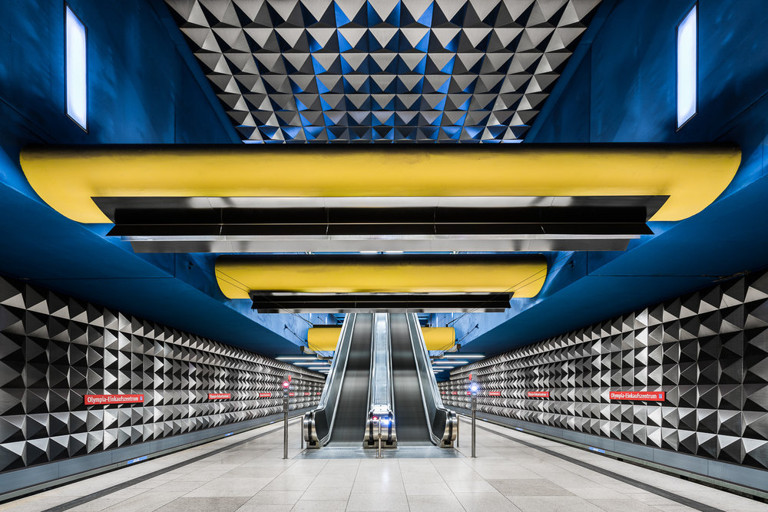 Chris M. Forsyth - Olympia-Einkaufszentrum, Munich, The Metro Project, minus37