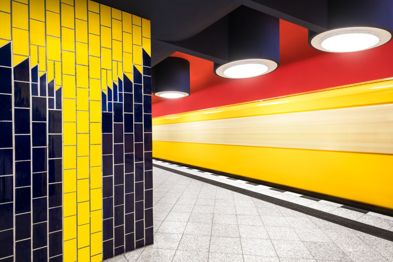 Chris M. Forsyth - Richard-Wagner-Platz, Berlin. The Metro Project, minus37