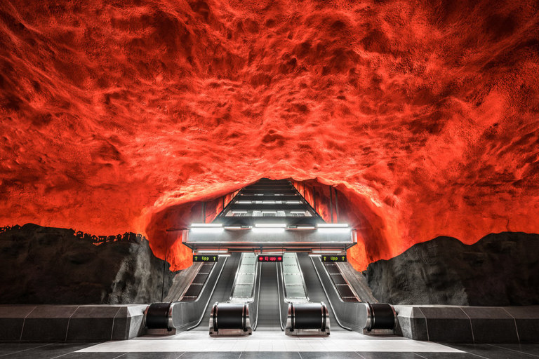 Chris M. Forsyth - Solna centrum, Stockholm, The Metro Project, minus37