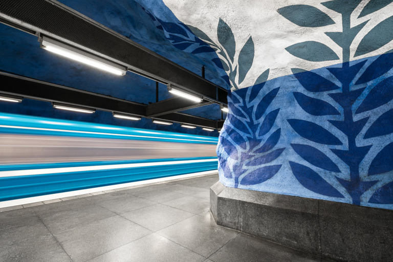 Chris M. Forsyth - T-Centralen, Stockholm, The Metro Project, minus37