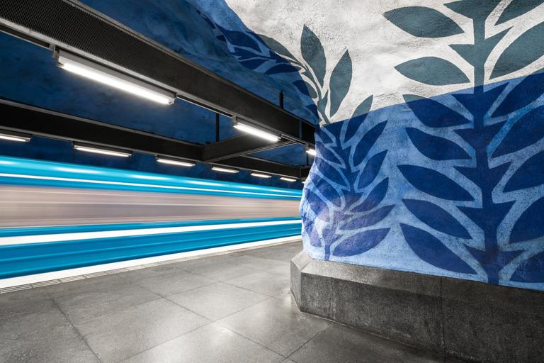 Chris M. Forsyth - T-Centralen, Stockholm, The Metro Project, minus37