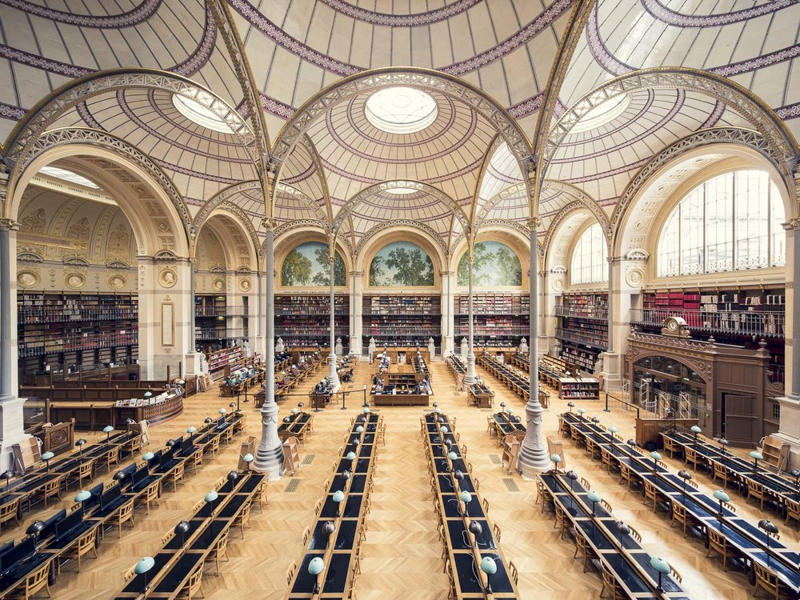 Thibaud Poirier - The Libraries series, minus37