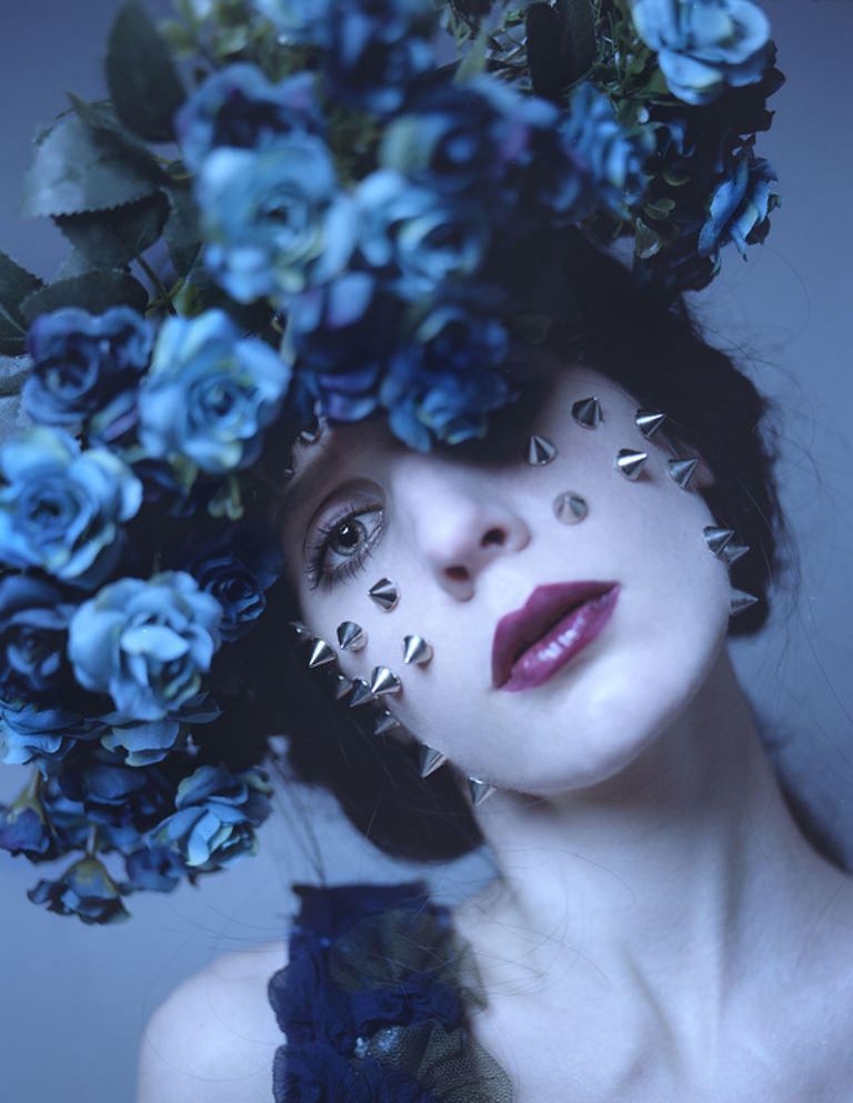 Maria Heiss - There the Uneasy Violets Lie… series