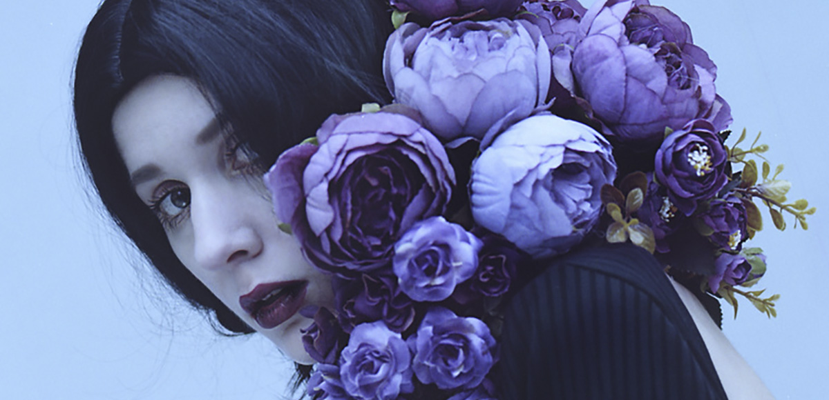 Maria Heiss - Untitled (detail), There the Uneasy Violets Lie… series, minus37