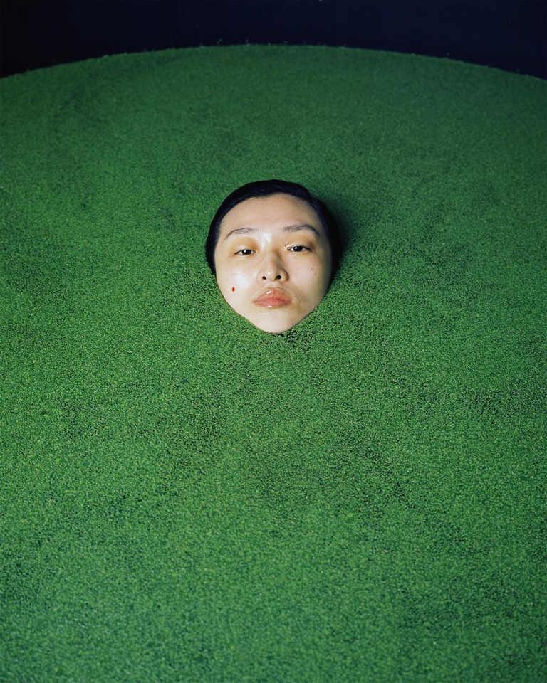Leslie Zhang - Untitled 2 (detail), minus37